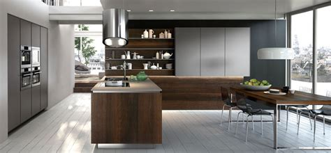 ideas to incorporate high end open shelving in modern kitchens