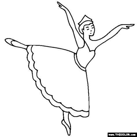 child ballerina coloring page best ballerina coloring pages free downloads f 1545