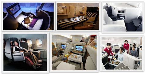 On Sale Travel Kit Bussinis Class Luxe Edition Abu Dhabi Etihad these are officially the 9 best business class cabins in