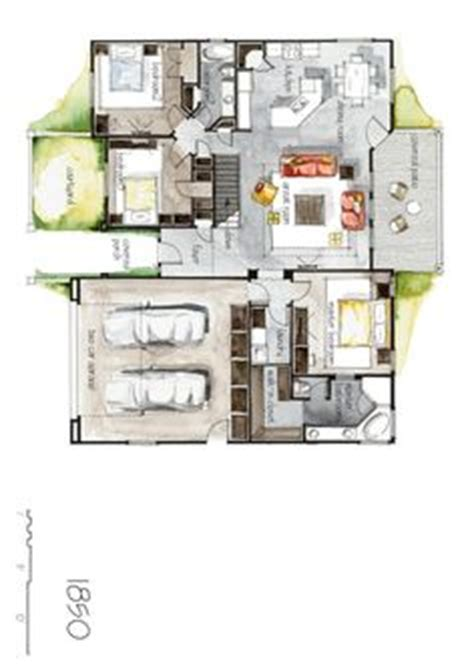 real estate watercolor 3d floor plan i on behance 1000 images about renderings on pinterest floor plans