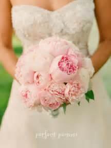 peonies bouquet bouquet bridal pale pink peonies bouquet