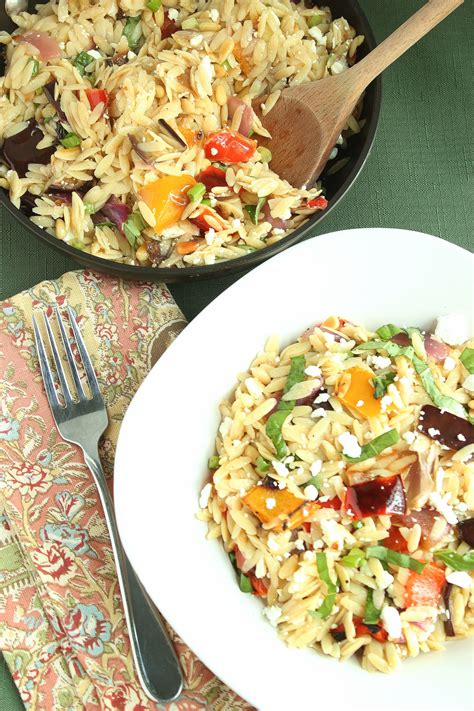 roasted root vegetables ina orzo with roasted vegetables recipe dishmaps