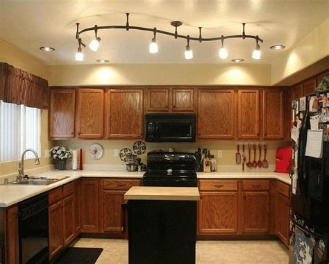 kitchen track lighting ideas island track lighting
