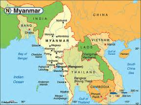 political map of myanmar myanmar political map by maps from maps world s largest map store