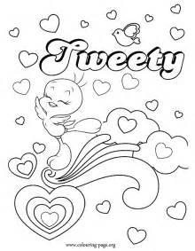 tweety tweety coloring