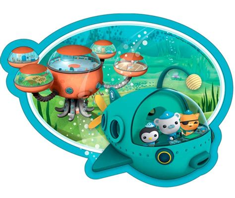 Octonauts Decorations by Octonauts Birthday Supplies Pack Of 8 Shaped