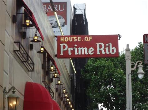house of prime rib san francisco ca ワゴンサービス picture of house of prime rib san francisco tripadvisor