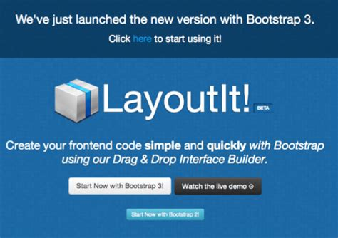 layoutit free layoutit free and powerful boilerplate for your next