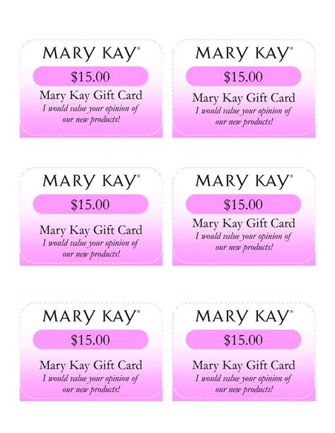 Mary Kay Gift Card - 17 best images about gift certificate on pinterest south hill designs lip