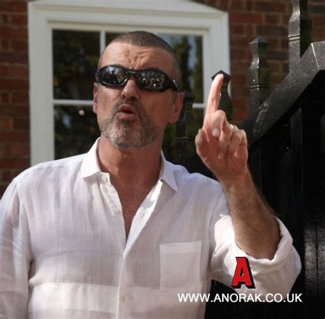 George Michael Smokes Marijuana During by Anorak George Michael Is Out And Wagging In Highgate Photos