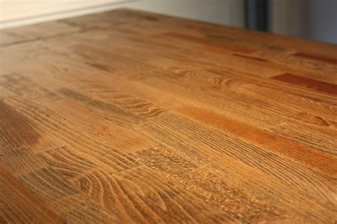 wooden kitchen table top
