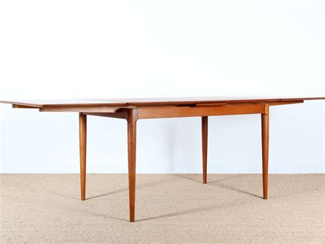 Table Extensible Scandinave by Table Scandinave Extensible En Teck 4 224 6 Pers Galerie