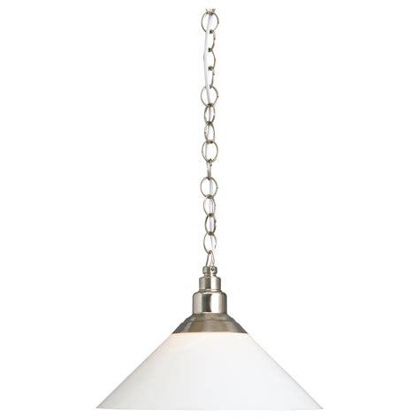 Ikea Lighting Pendant Kroby Pendant L Nickel Plated Glass Ikea
