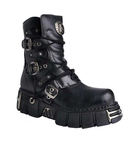 new rock mens boots new rock m1010 s1 leather boots
