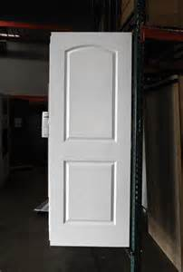Masonite 2 Panel Interior Doors by 2 Panel Painted White Arch Smooth Masonite Hollow