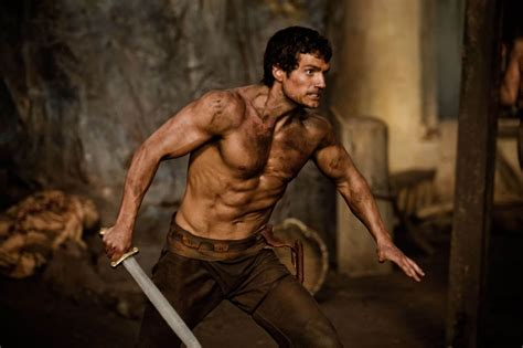 The League of British Artists: Henry Cavill Immortals And
