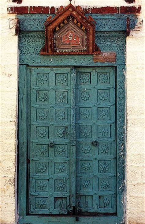 Indian Doors by Carved Wood Door Jaisalmer India Bold Quot World