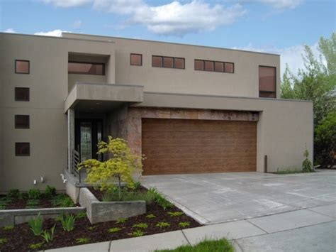 modern house garage 15 garage doors designs which blend in the house exterior