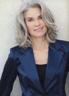 grey hair on mid length hair 30 stylish gray hair styles for short and long hair