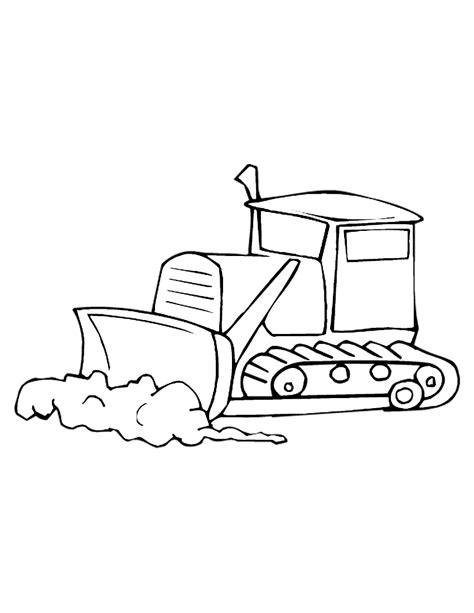Bulldozer Construction Coloring Pages Printable Coloring Pages Construction Colouring Pages