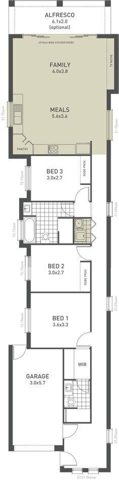 floor plans for narrow blocks lot narrow plan house designs craftsman narrow lot house