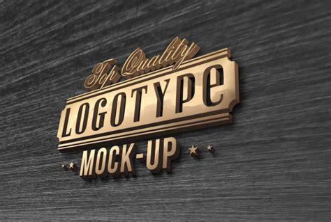 logo design mockup psd free download elegant logo mock up psd file premium download