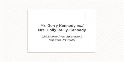 How To Write Apartment Address On Wedding Invitation