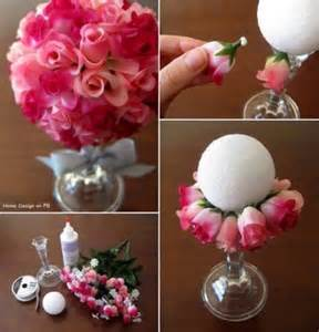 how to make floral arrangements step by step how to make beautiful paper rose flower ball bouquet step by step diy tutorial instructions