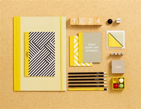 colorful office supplies design for mankind kate spade saturday packaging product design