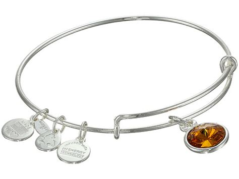 november birthstone alex and ani alex and ani november birthstone charm bangle at zappos com