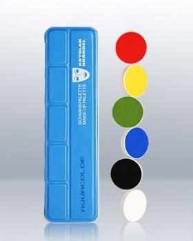 Aqua Segar Colour Up aquacolor 6 colors makeup palette 1107 permanent cosmetics