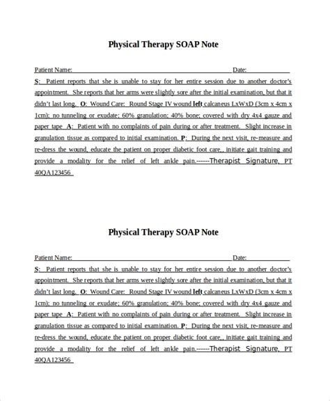 15 Soap Note Examples Free Sample Example Format