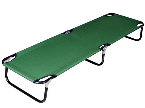 folding bed target portable folding cot cing military hiking medical guest