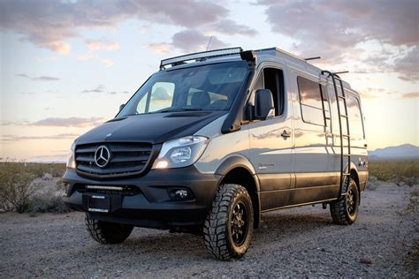 Mercedes 4x4 by Sportsmobile Sprinter 4x4 Looks Like A Mercedes But
