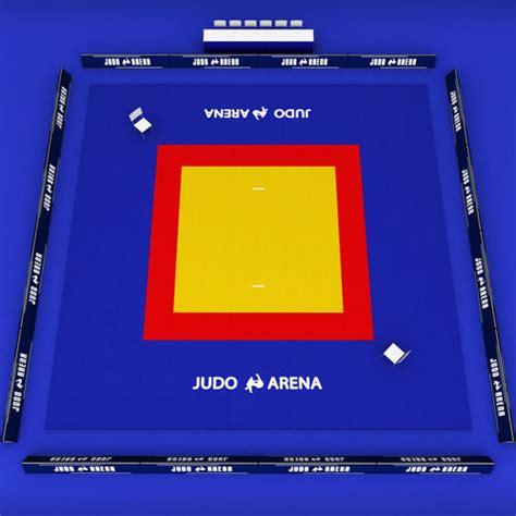 model japan judo tatami sport arena  poly cgtrader