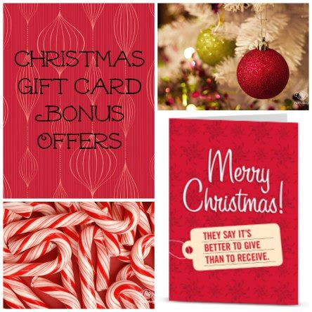 xmas gift card promotion gift card deals