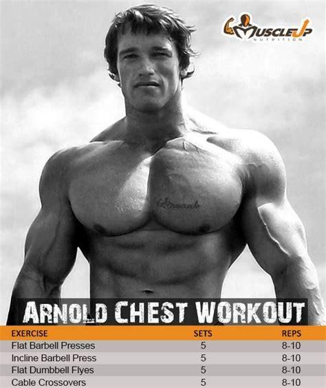 arnold schwarzenegger s chest workout https www