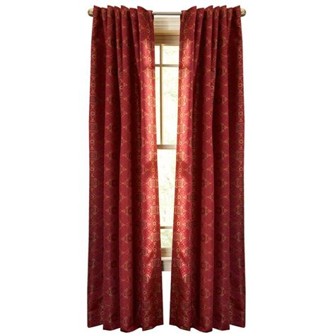 Martha Stewart Living Barn Pageant Back Tab Curtain