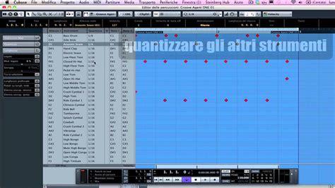 cubase drum pattern download registrare un pattern di batteria in real time nel drum