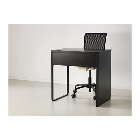 black ikea desk micke desk black brown 73x50 cm ikea
