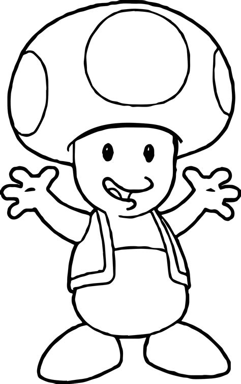 coloring pages mario toad 87 toad coloring pages video game coloring pages