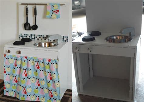 9 old furniture 10 fantastic diy play kitchens old nightstand 10 fantastic diy play kitchens