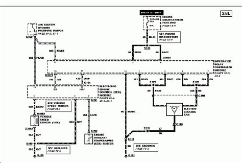 ford taurus cooling system diagram fan wiring taurus car club of america ford taurus