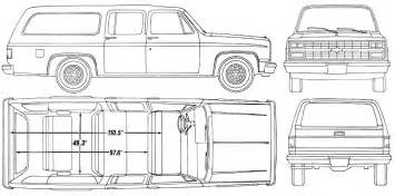 Chevrolet Suburban Interior Dimensions 1990 Chevy Suburban Facts Specs And Statistics