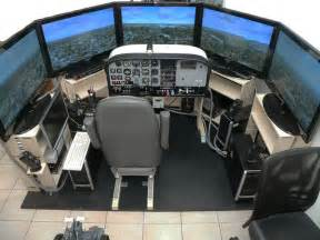 serious flight sim setup gaming