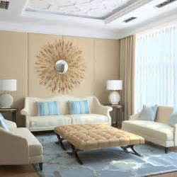 Living Room Blue And Beige Powder Blue Beige Combos Furnish Burnish