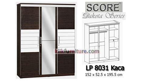Lemari Pakaian Hello 3 Pintu lemari pakaian 3 pintu minimalis lp 8031 k dakota score