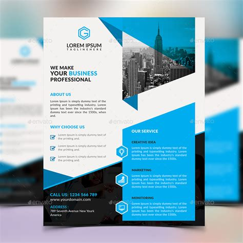 corporate flyer design by elite designer graphicriver