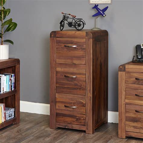 walnut filing cabinet 3 drawer filing cabinet 3 drawer baumhaus shiro walnut cdr07b