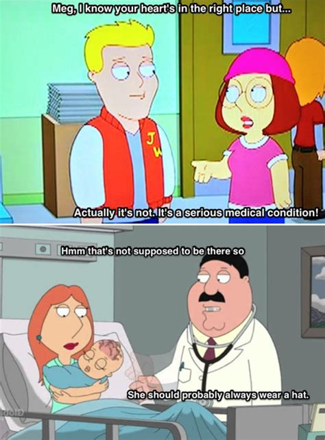 Meg Meme - why meg wears a hat family guy know your meme
